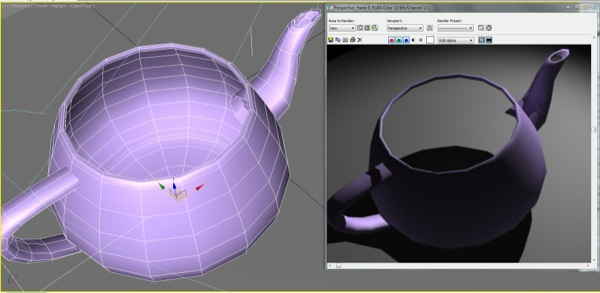 Backface Cull: Inner Object faces render as transparent when