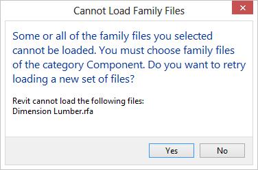 Erreur Impossible De Charger Les Fichiers De Famille Vous Devez