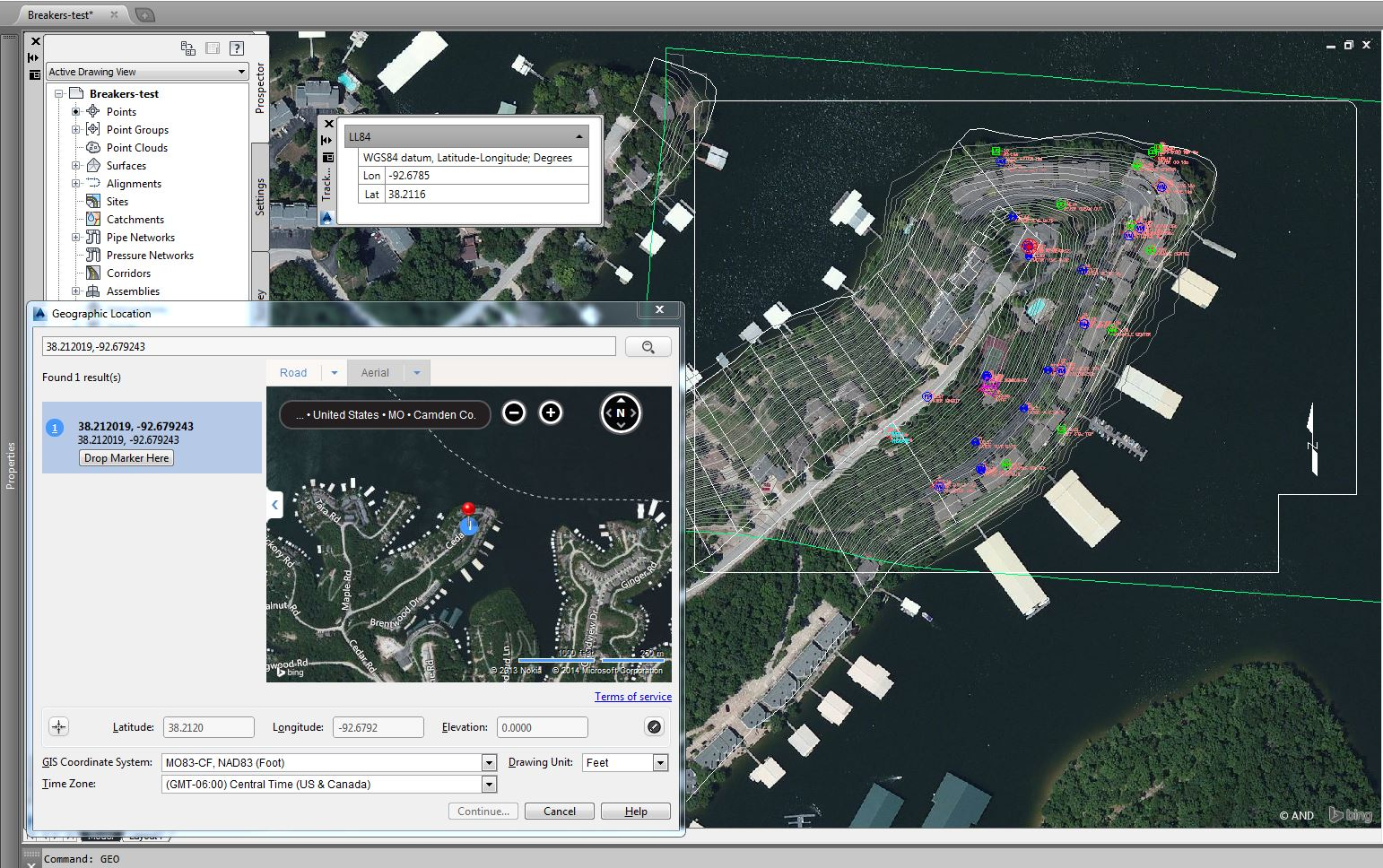 Geolocation default does not match drawing in AutoCAD Civil ... on airport 3d map, maya map, computer 3d map, water 3d map, java map, project management map, mac map, architecture map, school 3d map, natural 3d map, word map, nuclear 3d map,