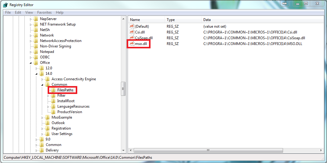 delete office 2013 product key from registry