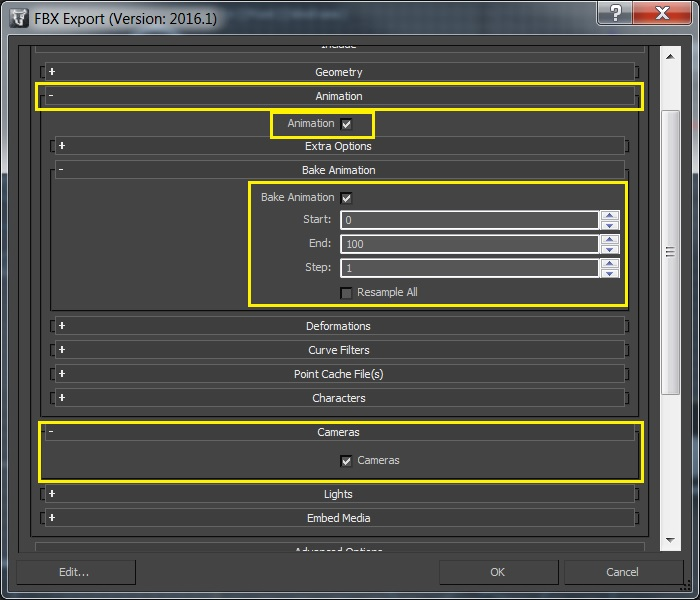 How to use a camera animation of 3ds Max or Maya within VRED