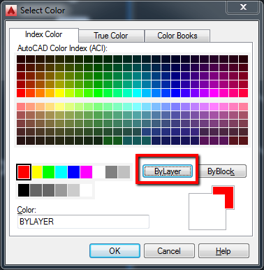 how to change thr order of layers in autocad