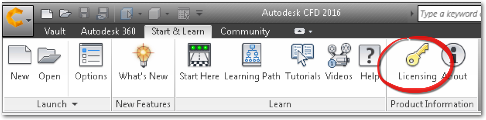 How to install and license Autodesk CFD 2016 Standalone