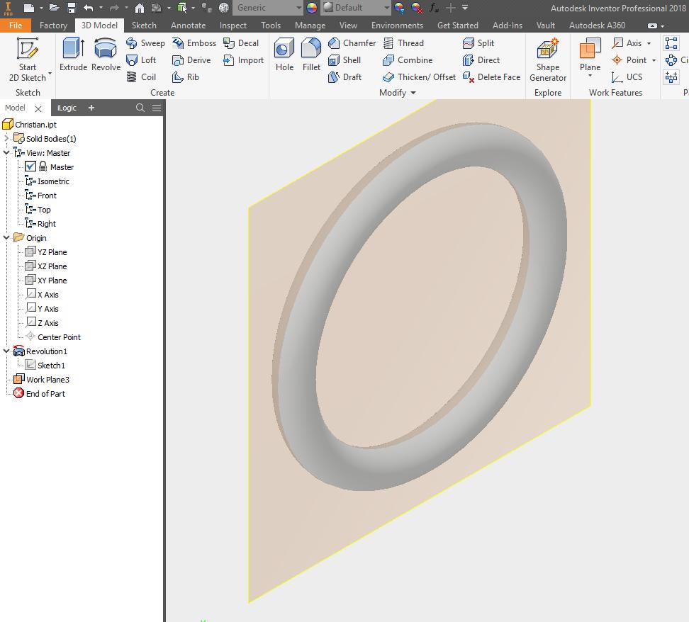 Cannot create Sketch Plane on eine gedrehte Fläche oder einen O-Ring ...