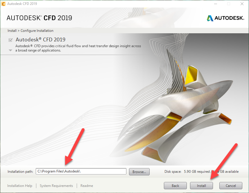 How to install the Autodesk CFD trial   CFD 2018   Autodesk