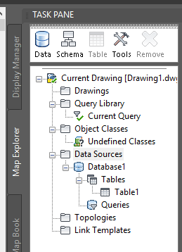 When trying to Attach an Access Database in Map 3D you