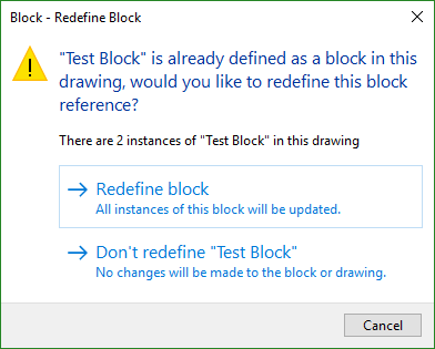 How to redefine blocks in AutoCAD | Search | Autodesk