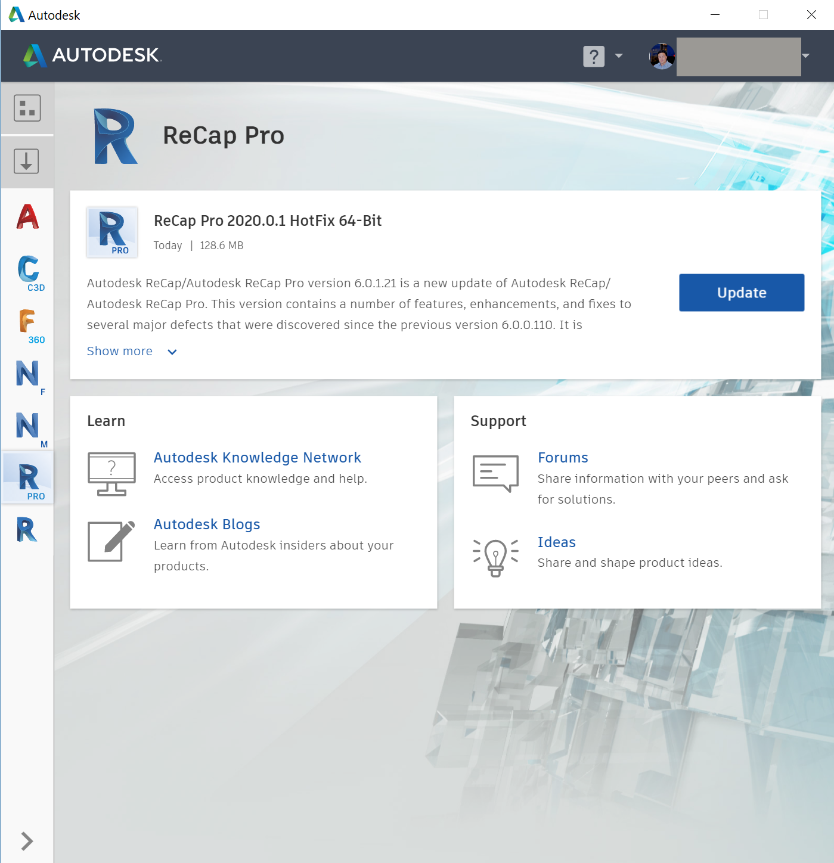Image result for Autodesk ReCap 360 Pro 2020
