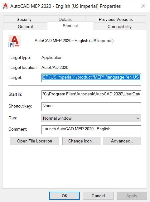 Missing MEP or Architecture tools in AutoCAD MEP or AutoCAD