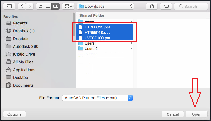 How to install custom hatch patterns in AutoCAD | Search