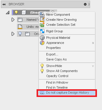 How to switch to direct modeling in Autodesk Fusion 360