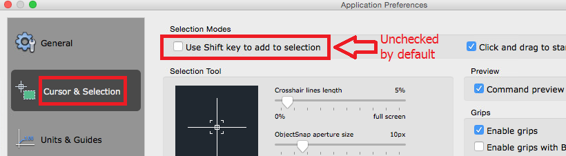 Cannot select multiple objects in AutoCAD | AutoCAD