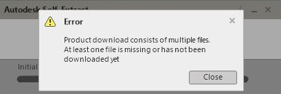 You encounter issues when you try to download Autodesk software with
