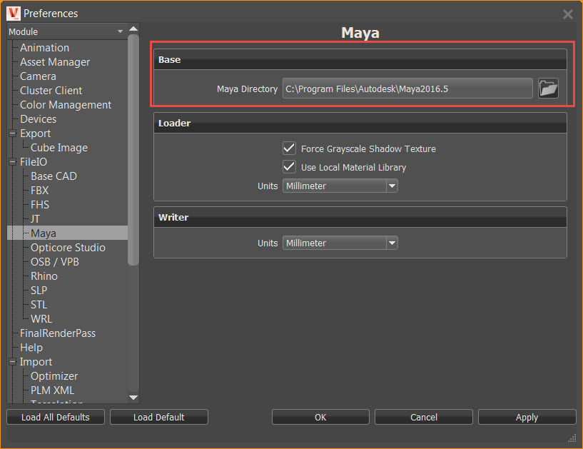 Maya files cannot be imported into VRED | Search | Autodesk