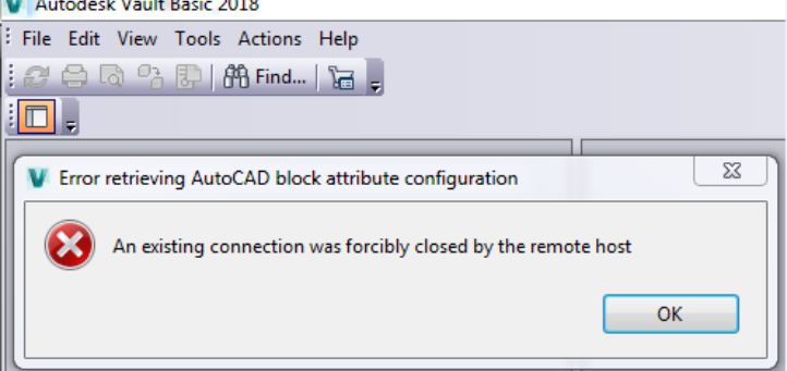 An Existing Connection was Forcibly Closed by the Remote