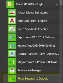 How to reset AutoCAD to defaults | Search | Autodesk