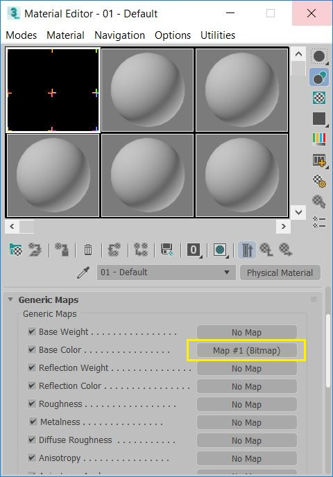 Missing Bitmap Node - Compact Material Editor