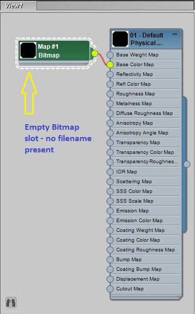 Slate Material Editor - Missing Bitmap Node