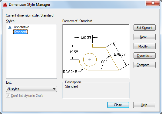 How to change the leader arrow size in AutoCAD Architecture