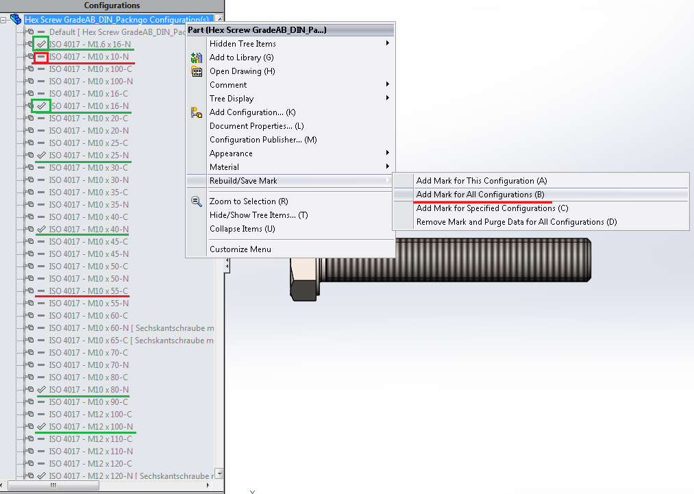 Autodesk® Inventor®: Import SolidWorks Standard parts not