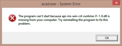 the program cant start because api-ms-win-crt-heap-l1-1-0.dll is missing from your computer itunes