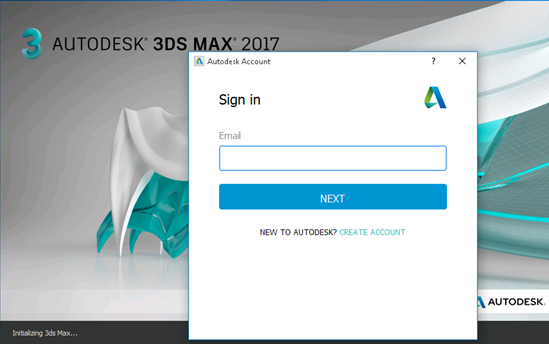 Autodesk software asks to Sign in every time it is launched