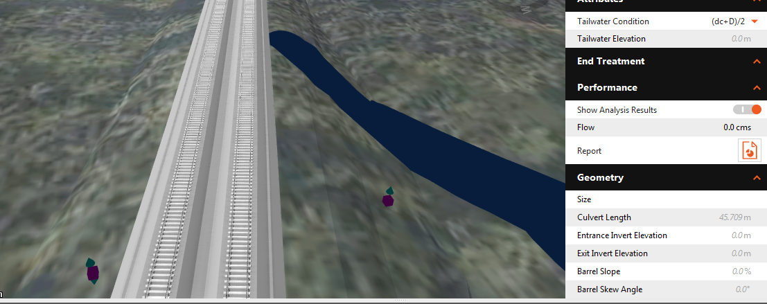Mapping Object Data from a SHP file as pipe/culvert in InfraWorks