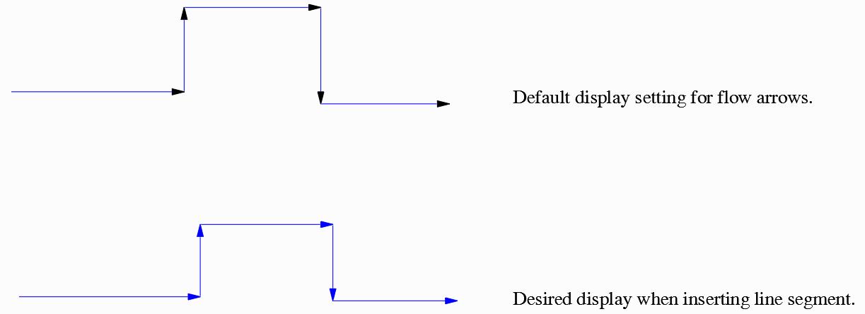 process flow diagram autocad autocad plant 3d how to get flow arrows to be the same color as  autocad plant 3d how to get flow