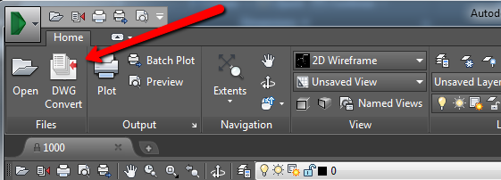How to save an AutoCAD drawing to a previous or older file