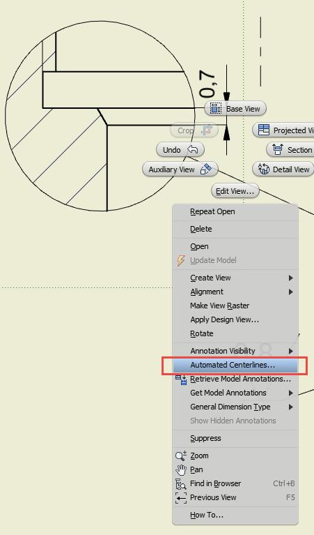 So fügen Sie eine Durchmesser-Abmessung in eine Autodesk ...
