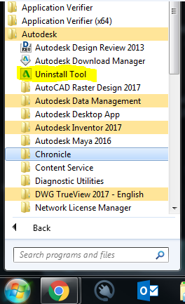 Revit Uninstall Tool