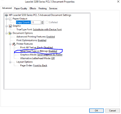 Revit-Certain text characters overlap when printing | Search