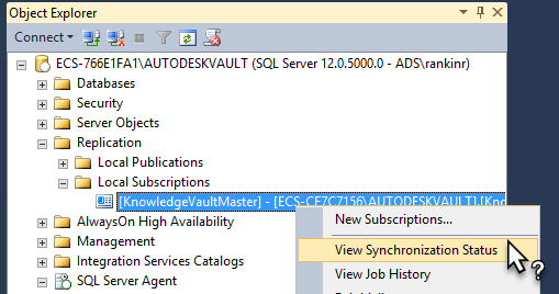 How to enable more verbose logging for Vaults SQL