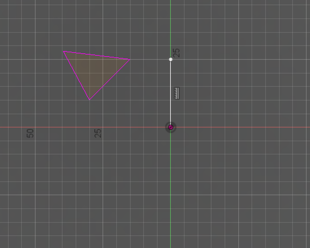 Every line created in the sketch environment is purple or white in