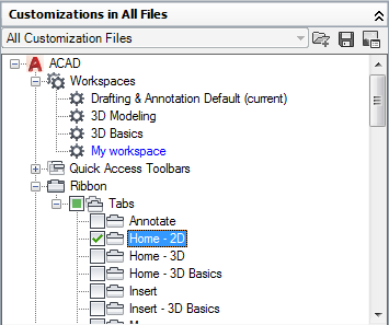 Palettes will not display in AutoCAD | Search | Autodesk Knowledge