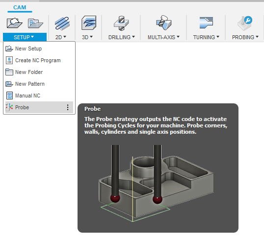 Inspect Surface tool for Fusion 360 as a CMM frequently