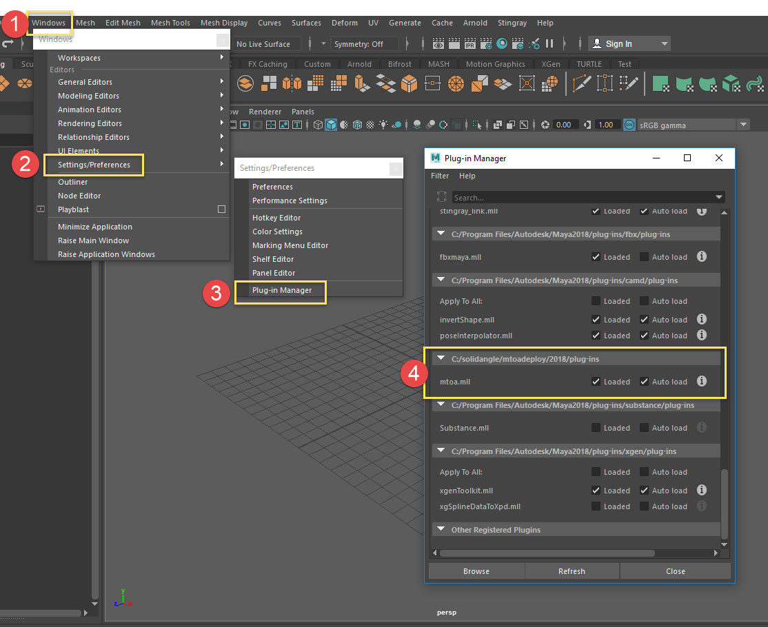 Ai attributes in Channel Box when not using Arnold in Maya
