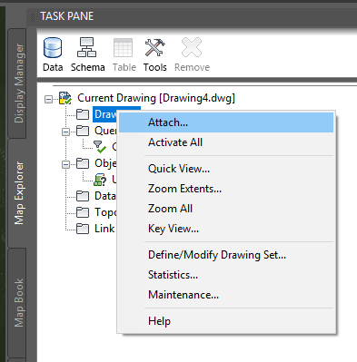 How to transform (reproject) drawing content to another coordinate