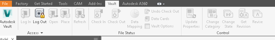 Vault Options Grayed Out in Inventor | Inventor | Autodesk