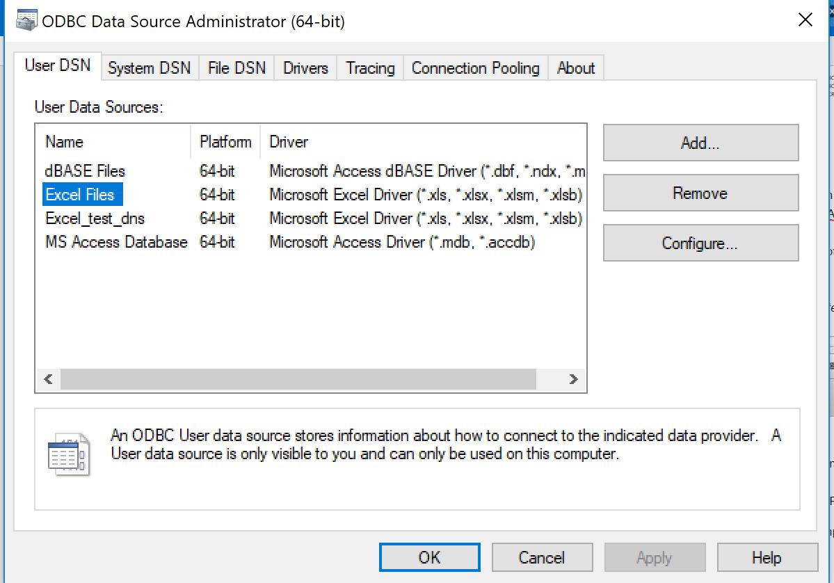 Übertragen von ODBC-Datenverbindungen auf einen anderen Computer ...