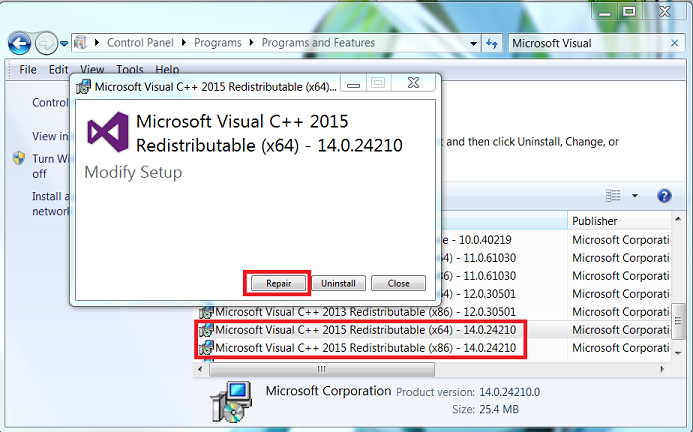 msvcp140 dll is missing windows 10