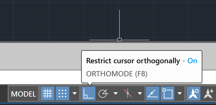 Prevent ORTHOMODE from being temporarily turned on when the
