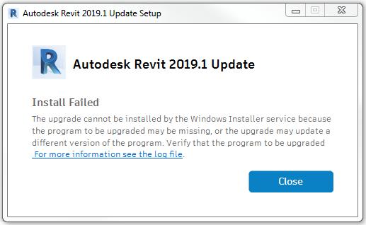 Install Failed
