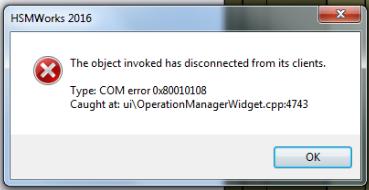 Error: \