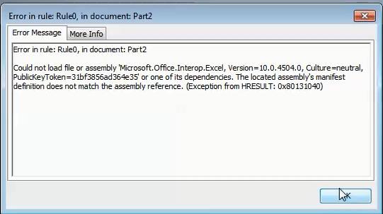 microsoft.office.interop.excel.dll missing