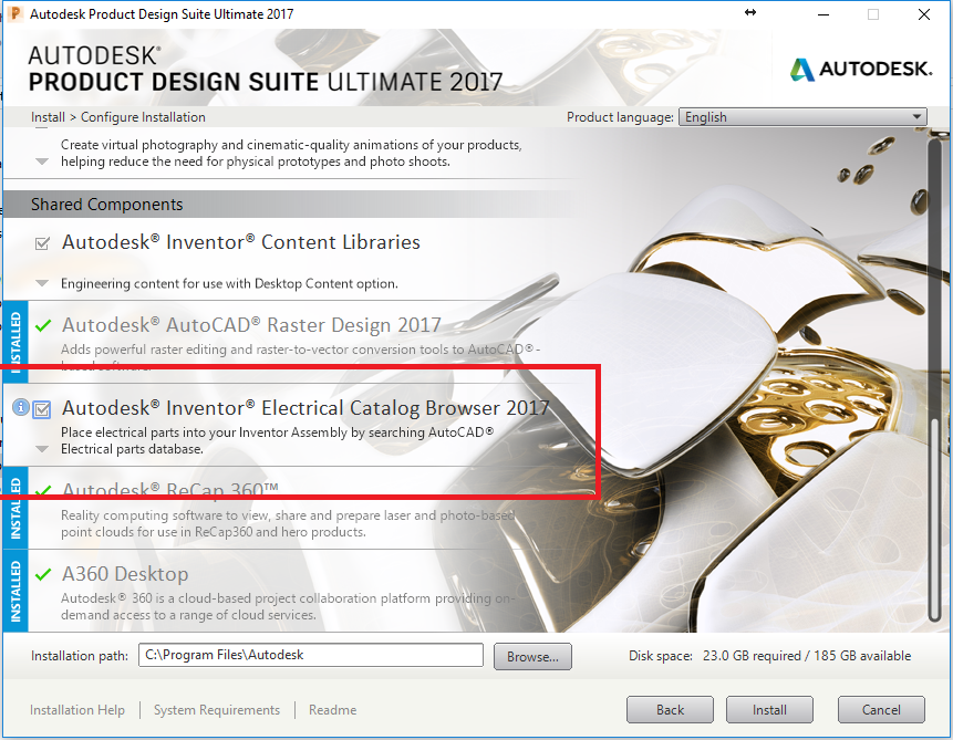 Inventor: Autodesk Inventor Electrical catalog browser is missing ...