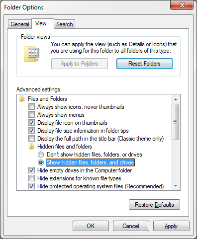How to turn on hidden files and folders on Windows | Search