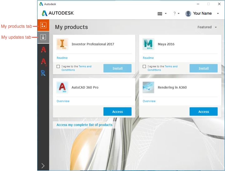 About the Autodesk Desktop App | Search | Autodesk Knowledge