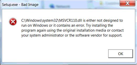 msvcr110.dll repair free