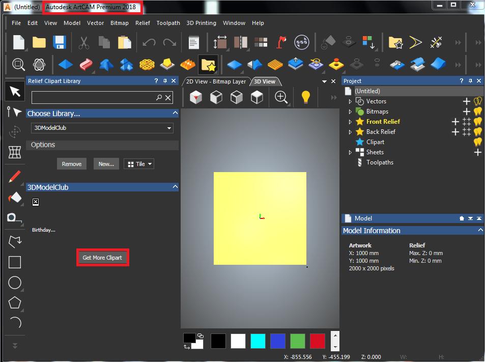 latest relief clipart library for autodesk artcam artcam 2018 rh knowledge autodesk com Revit 2014 Cover Art Autodesk 3DS